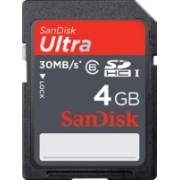 SanDisk Ultra 4 GB SDHC Class 6 30 MB/s Memory Card