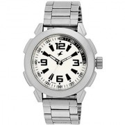 Fastrack White Dial Mens Analog Watch - 3130Sm01
