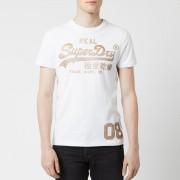 Superdry Men's Vintage Logo T-Shirt - Optic - M - White