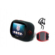 Unknown Difrnce MP1861 - Sport MP4 speler - 4 GB - Rood
