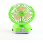 ETPS Solid Green Hand Fan(Pack of 1)