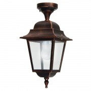 LIBERTI LAMP linea GARDEN Athena Lampada A Soffitto Plafoniera Quadrata Classica Illuminazione Esterno