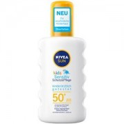 Nivea Cuidado para el sol Protección solar para niños Sun Kids Spray solar protección y piel sensible SPF 50+ 200 ml