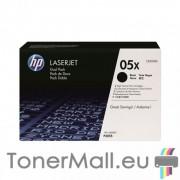 Комплект тонер касети HP CE505XD (Black)