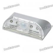 Auto PIR Keyhole Sensor IR 4-LED lampara de luz blanca
