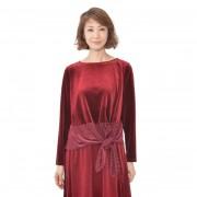 NbyA カシュクール風ストレッチベロアプルオーバー【QVC】40代・50代レディースファッション