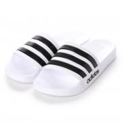 ラナン Ranan 〈adidas〉アディレッタサンダル (ホワイトケイ) レディース