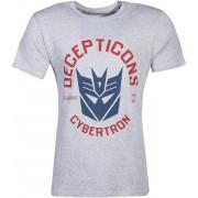 Transformers - Decepticon T-Shirt Grey