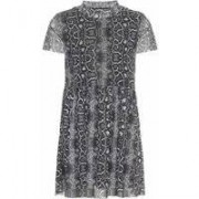 Name It! Meisjes Jurk - Maat 86 - All Over Print - Polyester/elasthan