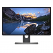 "DELL UltraSharp U2718Q 27"" 4K Ultra HD IPS Matt Black, Silver computer monitor"
