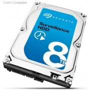 "Seagate Surveillance 8.0TB 3.5"" SATA3(6GB/s) Internal Hard Drive"