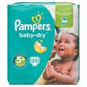 Baby-Dry Luiers Maat 5+