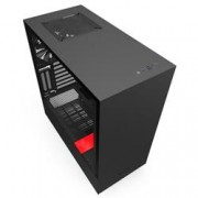 NZXT GAMING CASE H510i COMP.MID T.NERO/ROSSO -2*120 Aer F-2*LED S.-F.CTRL