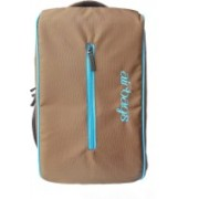 Airbags 15.6 inch blue Alta 33 L Laptop Backpack(Brown)