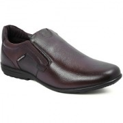 Red Chief Brown Men Slip On Formal Leather Shoes (RC3512 003)