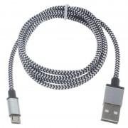 Cabo USB 2.0 / MicroUSB Premium - 3m - Branco