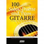 Hage Musikverlag 100 wunderbare Solos, Duette und Trios für Gitarre