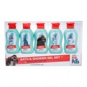 Universal The Secret Life Of Pets 5X60Ml Shower Gel 5X60 Ml Per Donna (Shower Gel)