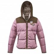 Dolomite - Women's Jacket Velvet - Veste hiver taille XXL, rose/gris/brun