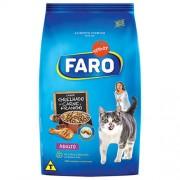 Ração Faro Para Gatos Adultos Sabor Grelhado de Carne e Frango 3kg