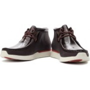 Clarks Tawyer Evo Boots For Men(Red, Brown, Beige)