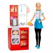 Barbie - olasz konyhával - Barbie babák