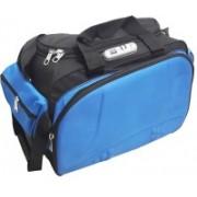 Aqeeq 4-5 Days Vintage Traveller on 2 Wheels Blue Black Small Travel Bag - Medium(Blue, Black)