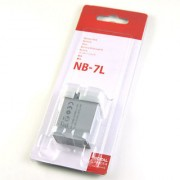 NB-7L BATTERY FOR CANON POWERSHOT G10 G11 G12 SX30IS NB7L