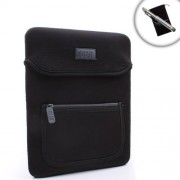 USA Gear Neoprene 10.1 Tablet Sleeve Carrying Case for Boogie Board 10.5 LCD eWriter Tablet Includes Bonus Stylus and Accessory Bag