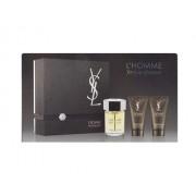 Yves Saint Laurent L Homme 100Ml Edt 100Ml + 50Ml Balsamo After Shave + 50Ml Docciaschiuma Per Uomo (Eau De Toilette)
