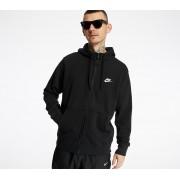 Nike Sportswear Club Hoodie Black/ Black/ White