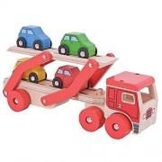 Bigjigs leksaker transportör lastbil
