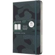 Moleskine Notes Moleskine Nomad Blend limitowana edycja L zielony