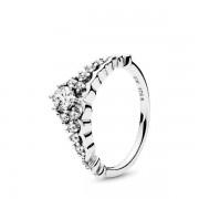 PANDORA Ring Fairytale Tiara, Ring uit Sterling zilver, Zirkonia, 196226CZ-50