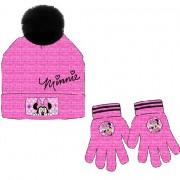 Disney Minnie sapka + kesztyű