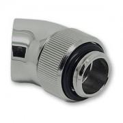 Fiting adaptor rotativ EK Water Blocks EK-AF Angled 45 grade G1/4 - Black Nickel