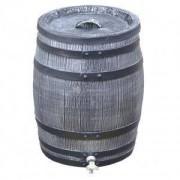 Roto kunststof regenton 50 liter grijs