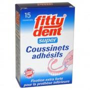 Fittydent fitty®dent super Hafteinlagen für untere Prothesen