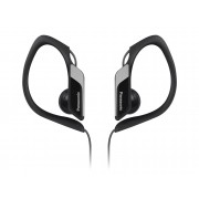Panasonic Auriculares con cable PANASONIC RP-HS34E (In ear - Negro)