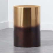 Winston Round Ombre Side Table by CB2