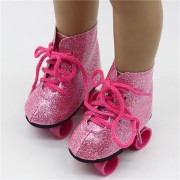 Adorable Roller Skates Shoes for 18'' American Girl Our Generation Doll Accessories Action Figure