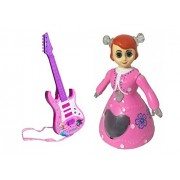 M N Overseas Rock and Roll Guitar with Dora Doll