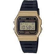 Casio Vintage Series Digital Gold Dial Mens Watch-F-91WM-9ADF (D142)