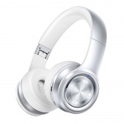 PICUN P26 Folding Over-ear Bluetooth V4.1 Headphone Support AUX-in/TF Card - Silver