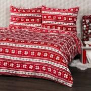 Lenjerie pat 1 pers. 4Home Vis de iarnă, microflanel, 140 x 200 cm, 70 x 90 cm, 140 x 220 cm, 70 x 90 cm