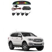 KunjZone Car Reverse Parking Sensor Black With LED Display Parking Sensor For Ford Endeavour