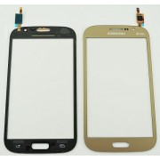 Vidro touch Samsung Galaxy Grand Neo plus I9060I dourado