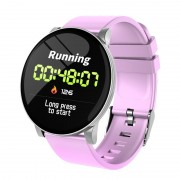W8 1.3-inch Round Screen Multi-functional Bluetooth 4.4 Sports Smart Watch - Pink