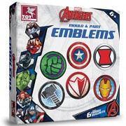 ToyKraft Marvel Avengers - Mould & Paint Emblems