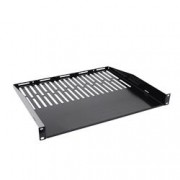 Techly Professional Mensola 1 U per armadio rack Audio Video